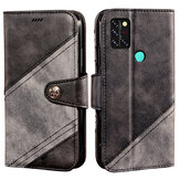 Bakeey for Umidigi A9 Pro Case Retro Business Flip with Multi-Card Slot Wallet Stand PU Leather Shockproof Full Body Protective Case