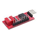 5 قطع PCF8574 PCF8574T I / O ل I2C IIC مدخل وحهة المستخدم الدعم Cascading ممتد وحدة توسيع المجلس عالية منخفضة المستوى Geekcreit ل Arduino - المنتجات التي تعمل مع لوحات A