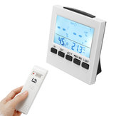 Digital Termometro Alarm Timer Umidità Temperatura Luce Indoor Outdoor