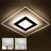 28W moderne eenvoudige vierkante acryl LED plafondverlichting woonkamer slaapkamer thuis Lamp AC220V