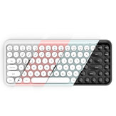 Ajazz 308i bluetooth 3.0 Wireless Gaming Office Teclado 84 teclas Classic teclas redondas