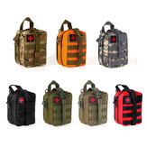 EMT Emergency Rescue Survival Pouch Climbing Bag Medical Package Tactical Molle 7Colors  First Aid Kit Bag