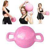 0-12LB Water Kettlebell Adjustable Dumbbell Double Handles Pilates Body Shaping Equipment Strength Training Yoga Fitness