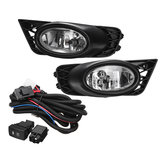 2PCS H11 55W Car Front Bumper Fog Lights Lamp for Honda Civic 4-Door Sedan 2009-2011