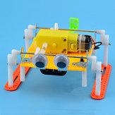 DIY المشي لعبة RC الروبوت لعبة البخار التعليمية كيت هدية لطفل الأطفال