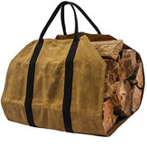 khaki Bagażnik Carrier Log Carrier Wood Torba do kominka 16oz Woskowane płótno