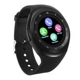 Y1 Smart Bluetooth3.0 Watch Phone Banda SIM Card Touch Screen Bracciale sportivo