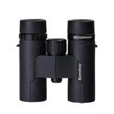 EYESKEY ED 8x32 Waterproof Binocular Camping Night Vision SMC Coating BAK4 Prism Optics Telescope