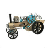 Teching DM34 Steam Coche Modelo Stirling Motor Full Metal Model Toy Colección Decoración de regalo