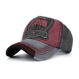 Men Outdoor Washed Denim Baseball Cap