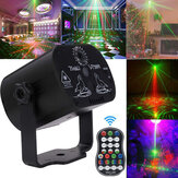 AC100V-240V 90 Patterns proiettore LED RGB Laser Stage Light DJ Disco KTV Illuminazione per feste domestiche