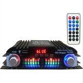 12V Car Mini HIFI Digital bluetooth Audio Power Amplifier Four Channel Output with Remote Control