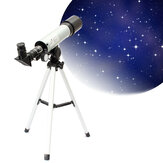 IPRee® F360x50 HD Refractive Astronomical Telescope Zoom Monocular Space Spotting High Magnification Telescope with 38cm Tripod