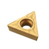 10pcs TCMT 16T304 Carbide insere triangular carvão de aço de tungstênio inserções para Turning Tool