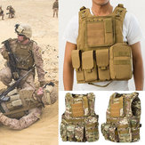 Coumouflage Militaire Tactique Gilet Molle Combat Assault Vêtements De Protection CS Tir Hunting Gilet