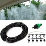 10m 33ft tuinbouwinstallatie Micro Drip Irrigation System Patio Atomization Micro Sprinkler Cooling Kit