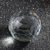 BoladecristaisclarosK9corte esfera prismas bola de vidro decoração artesanato presentes 25-80mm