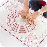 Honana Platine de silicone Platinum Fondant Mat fibre de verre renforcé 60 x 40cm tapis de cuisson