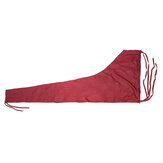 420D 8-9ft /10-11ft Mainsail Boom Sail Cover Protector Waterproof Fabric Red