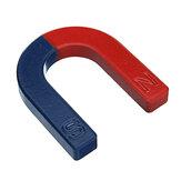 u شكل حدوة حصان أحمر أزرق رسمت القطب تجربة الفيزياء التدريس 60 ملليمتر