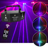 Laser LED Light Remote 9-EYE RGB DMX Projecteur Strobes DJ KTV Disco Stage Light