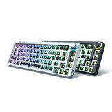 مجموعة لوحة مفاتيح GamaKay LK67 مخصصة 67 مفتاحًا RGB لوحة مفاتيح بلوتوث قابلة للتبديل السريع 3pin / 5pin التبديل 65٪ ثلاثية قابلة للبرمجة الوضع سلكي بلوت