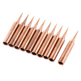 10pcs 900M-T Pure Copper Iron Tips Soldering Tips For Hakko Soldering Rework Station Soldering Iron