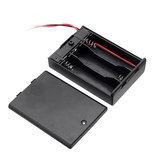 5pcs 3 Slots AA Battery Box Battery Holder Board with Switch for 3xAA Batteries DIY kit Case