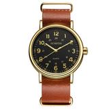 OCHSTIN 1249 Homens Quartz Relógio Casual Couro Relógio De Negócios