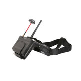 Hawkeye Little Pilot AR+DVR All-in-one 5 Inches True Diversity FPV Detachable Monitor 800x480 5.8G 48CH Dual Receiver Foldable Goggles With DVR RC Drone