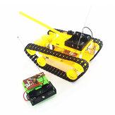 DIY RCロボットタンクSTEAM組み立て式ロボットおもちゃキット