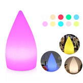 Ricaricabile Colorful LED WiFi APP Control Luce notturna Smart Water Drop Shape Table lampada Compatibile con Alexa Google Home