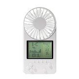 26 Games Video Console Third Gear Mini USB Fan Retro Handheld Game Player Zomer Portable Fan