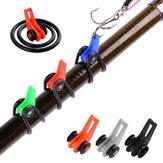 ZANLURE®10Pcs ABS Angelhakenhalter Wächter lockt Fishhook Safe Keeping Pike Carp Angelzubehör Angelgerät für Angelrute