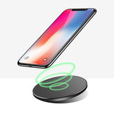 Bakeey 10W QI Wireless Charger Fast Charging Pad for Samsung for iPhone Xiaomi Huawei