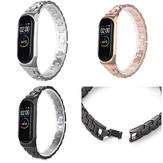 Bakeey Stalowy pasek do zegarka z klamrą motylkową do inteligentnego zegarka Xiaomi Mi Band 4 i 3 Nieoryginalny
