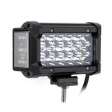 6Inch 54W LED Work Light Bar Side Shooter Flood Beam for Jeep Offroad ATV SUV Motorcycle