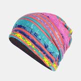 Frauen Baumwolle Mehrzweckdruck Mütze Cap Neck Gamasche Gesichtsschutz Hüte Bandana