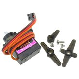 Lofty Ambition MG90S Metal Gear 9g Servo voor Robot Vliegtuig RC Helicopter Auto Boot Model