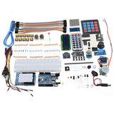 Ultimate UNO R3 LCD1602 Starter Kit Com Teclado Servo Motor Relé de Gás Módulo RTC Geekcreit para Arduino - produtos que funcionam com placas Arduino oficiais