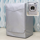 Home Sunscreen Washing Machine Cover Laundry Dryer Polyester Silver Coating