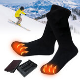 Rechargable Battery Electric Heated Socks Boot Feet Warmer Winter Outdoor Adjustable Temperature