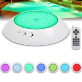 12V 18W Underwater Swimming Pool Spa LED Light Waterproof RGB Lamp with Remote Controller