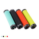 ZTTO AG-15 22mm Aluminum Alloy Anti-slip Double Side Locking Durable 1 Pair x Bicycle Grip Mountain Road Bikes Grip
