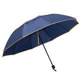 2-3osobynazewnątrzPrzenośny3 składany parasol 130cm Wodoodporny anty-UV Camping parasolka