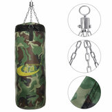 60/80/100CM Boxing Training MMA Punching Bag With Hook Oxford Canvas Hanging Fight Bag Punch Bag Sandbag