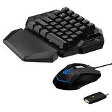 Gamesir VX AimSwitch Keyboard Mouse Gamepad Converter مفرد Hand Keyboard Keyboard For PS4/PS3 / Xbox One/Nintendo Switch/الكمبيوتر