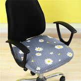 1 Pc Elastic Office Chair Seat Cover Computer Rotating Chair Seat Protector Stretch Armchair Slipcover Home Office Furniture Decoration