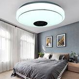 33CM 36W bluetooth Music LED Lâmpada de teto RGB Star estéreo com alto-falante Controle Remoto AC170-265V / 85-265V