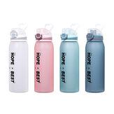 DILLER31oz900MLTritanBPAFree Botellas de agua con prueba de fugas cerradura Portátil de gran capacidad al aire libre Sport Drink Kettle